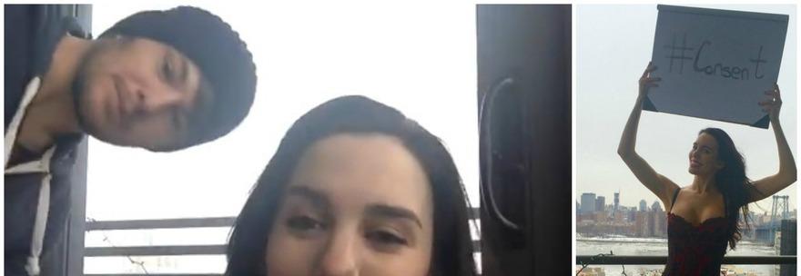 La stellina Disney si sp0glia per scommessa. Nvda al balcone ripresa dal marito ed il video è subito virale!